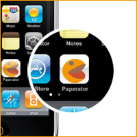 Paperator for iphone